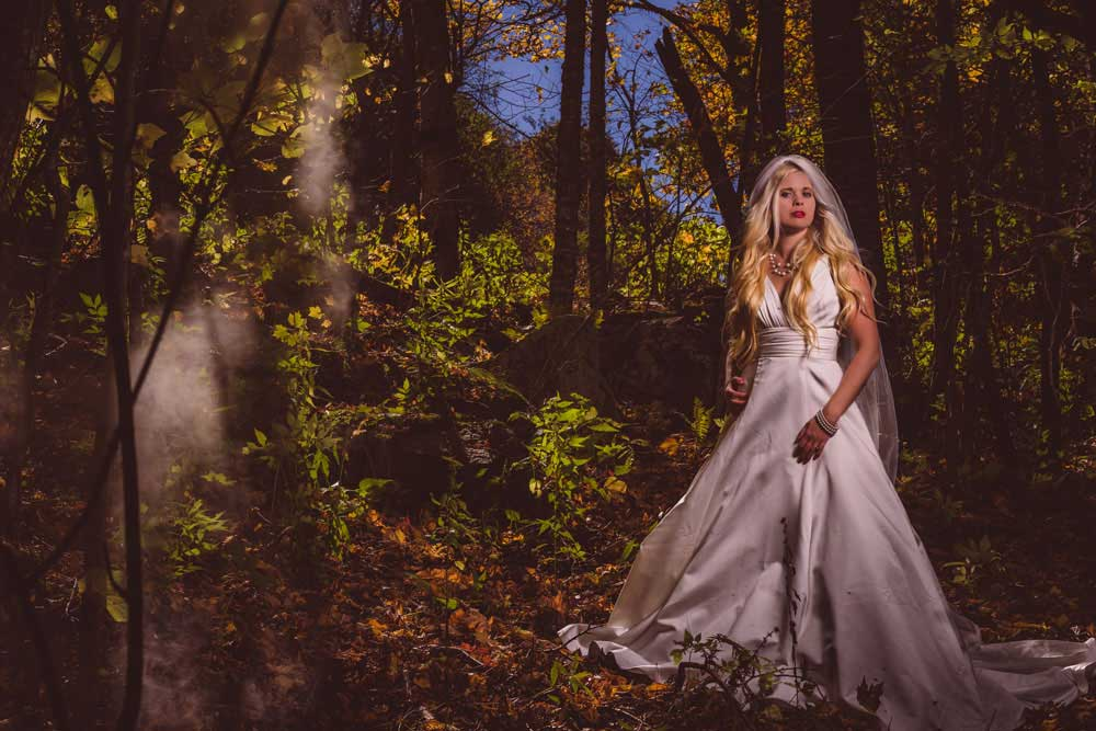 Asheville, NC Bridal Portraits