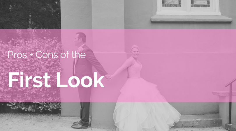 Pros and Cons of The First Look Photo