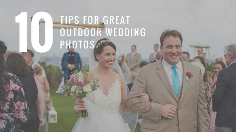 10 Tips for Great Outdoor Wedding Photos